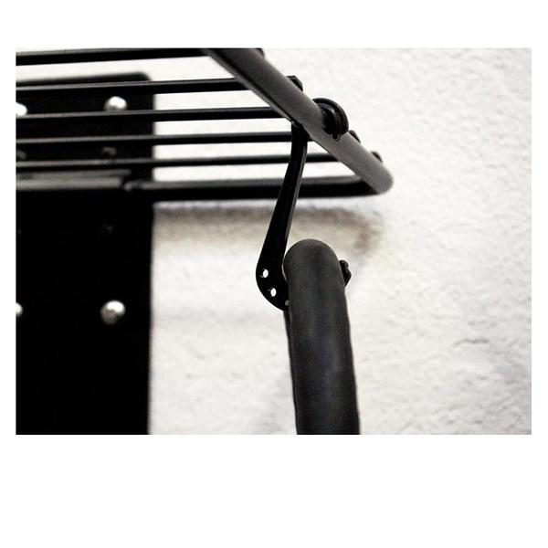 eufab fahrrad wandhalter mit ablagegitter atp autoteile. Black Bedroom Furniture Sets. Home Design Ideas