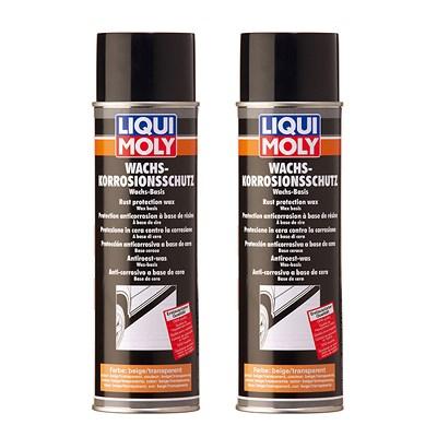 liqui moly 2x 500ml wachs korrosions schutz braun transparent atp autoteile. Black Bedroom Furniture Sets. Home Design Ideas