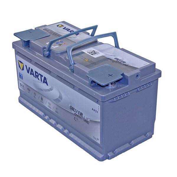 varta silver dynamic agm starterbatterie 95ah 850a g14. Black Bedroom Furniture Sets. Home Design Ideas