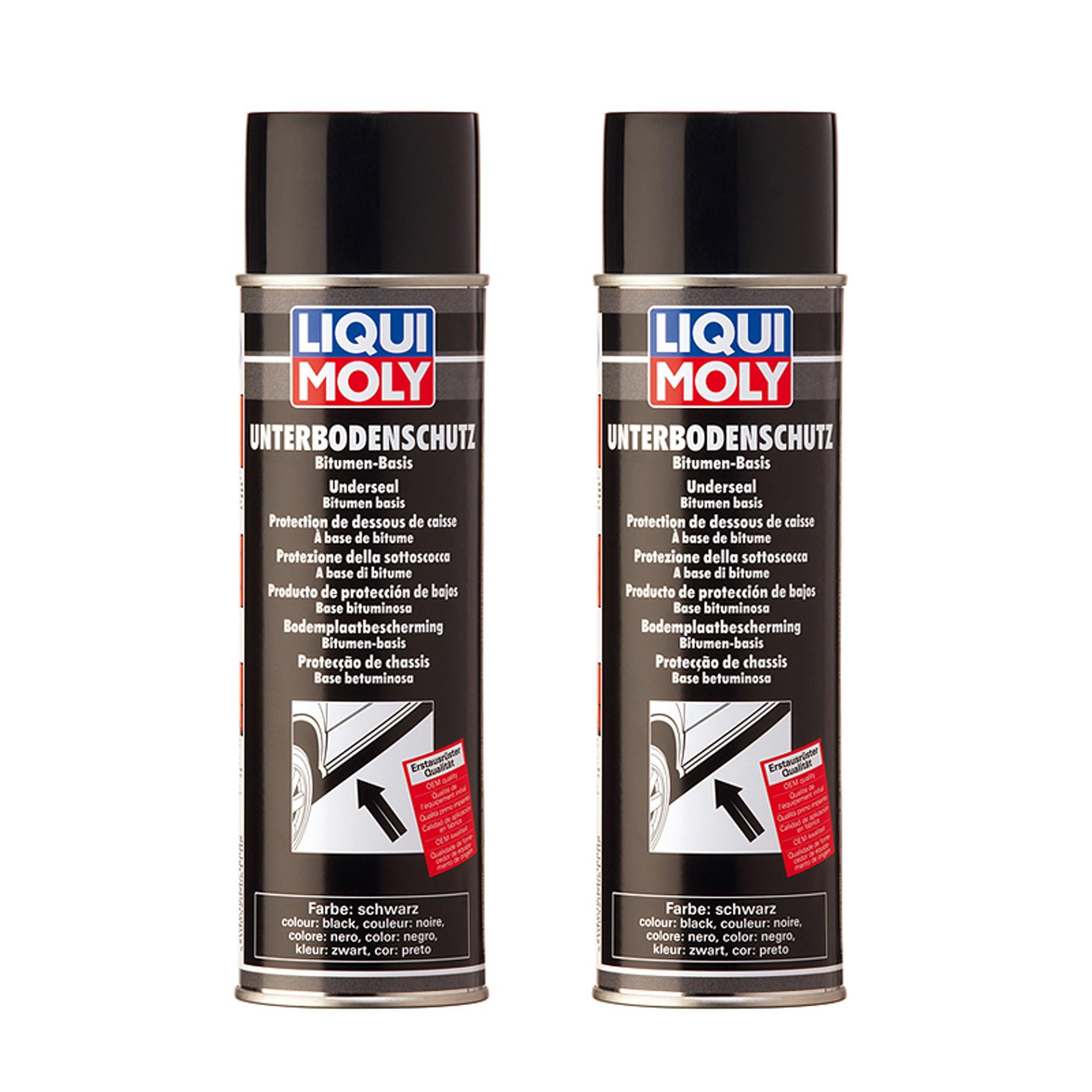 liqui moly 2x 500ml unterboden schutz bitumen schwarz atp autoteile. Black Bedroom Furniture Sets. Home Design Ideas