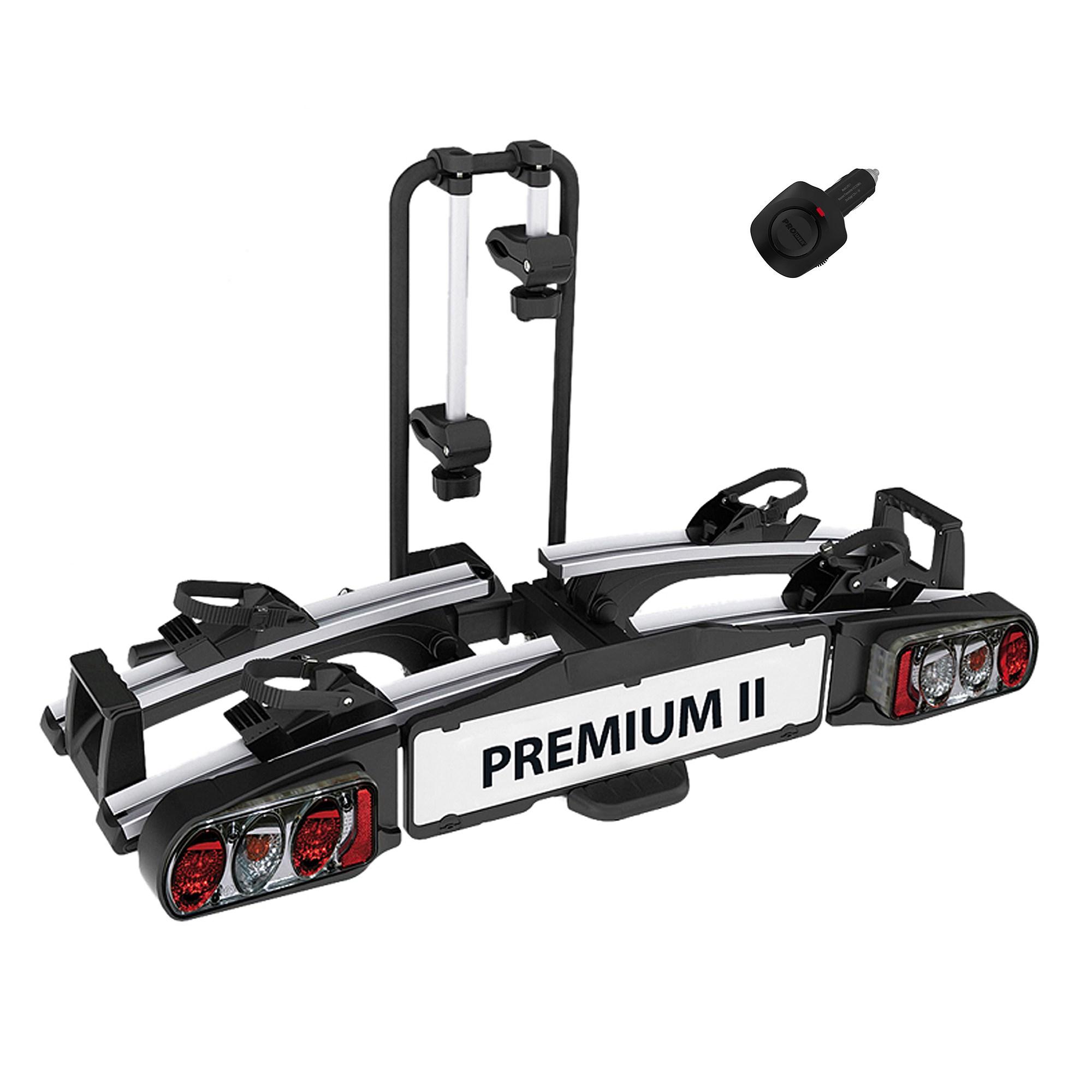 eufab premium ii fahrradtr ger ahk einparkhilfe atp. Black Bedroom Furniture Sets. Home Design Ideas