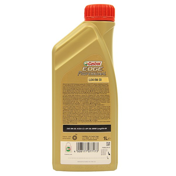 castrol 12x 1 l edge prof titanium fst bmw ll04 0w 30. Black Bedroom Furniture Sets. Home Design Ideas