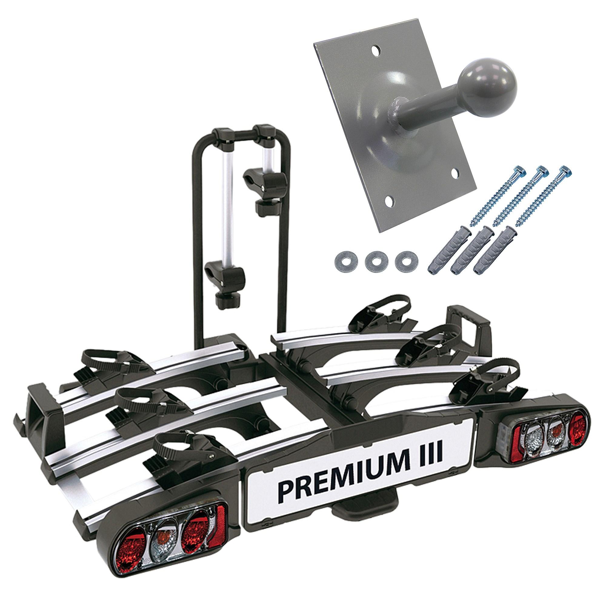 eufab premium fahrradtr ger iii ahk wandhalter atp autoteile. Black Bedroom Furniture Sets. Home Design Ideas