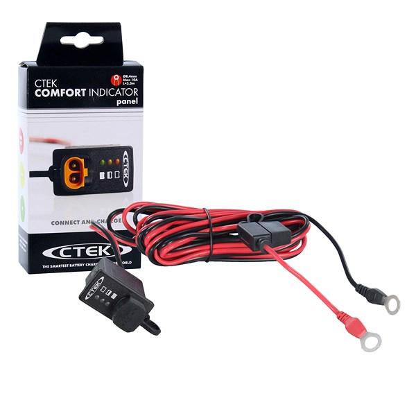 ctek batterieladeger t mxs 5 0 comfort indicator einbau. Black Bedroom Furniture Sets. Home Design Ideas