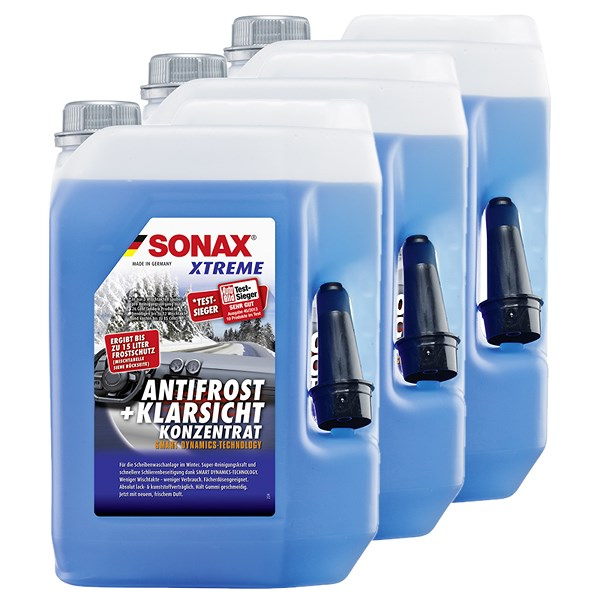 sonax 3x 5 l xtreme antifrost klarsicht konzentrat atp autoteile. Black Bedroom Furniture Sets. Home Design Ideas