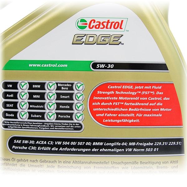 castrol 5 l edge fst 5w 30 atp autoteile. Black Bedroom Furniture Sets. Home Design Ideas