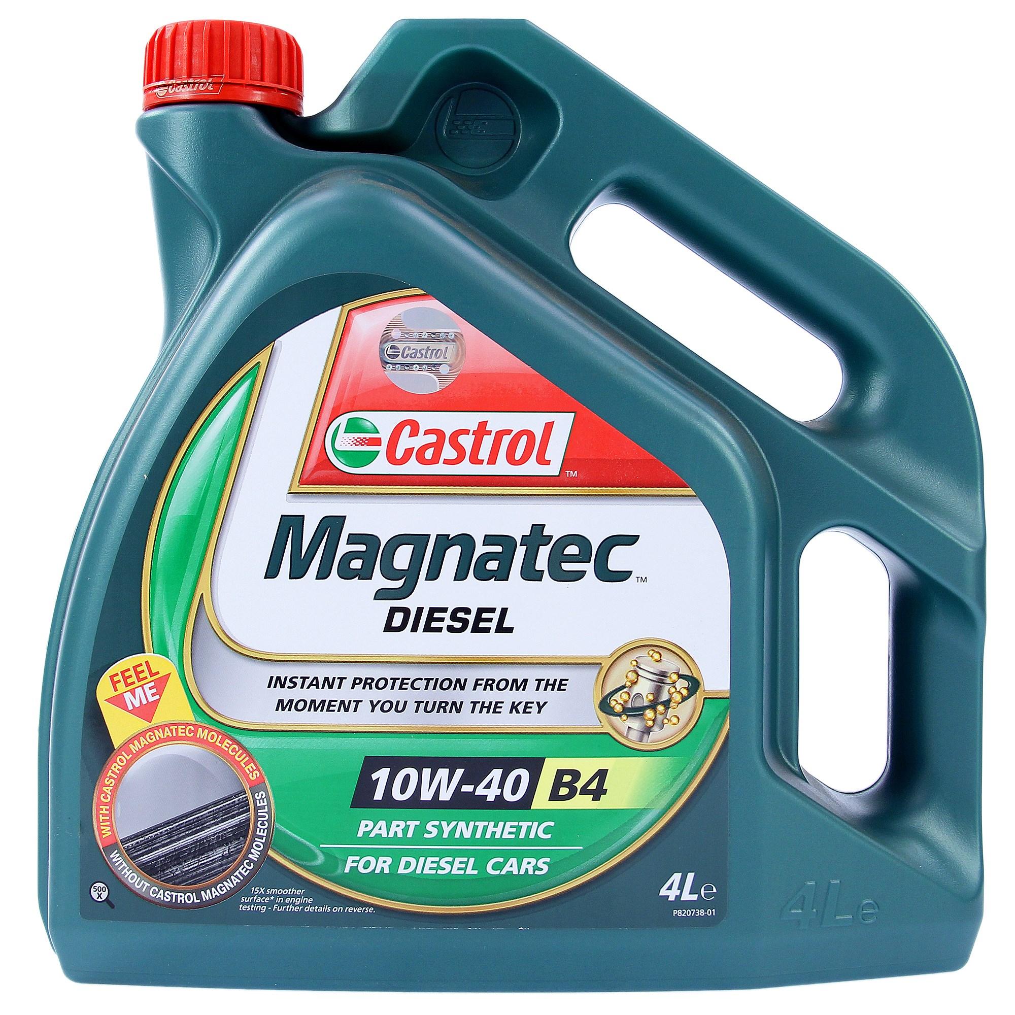 castrol magnatec diesel 10w-40 pdf