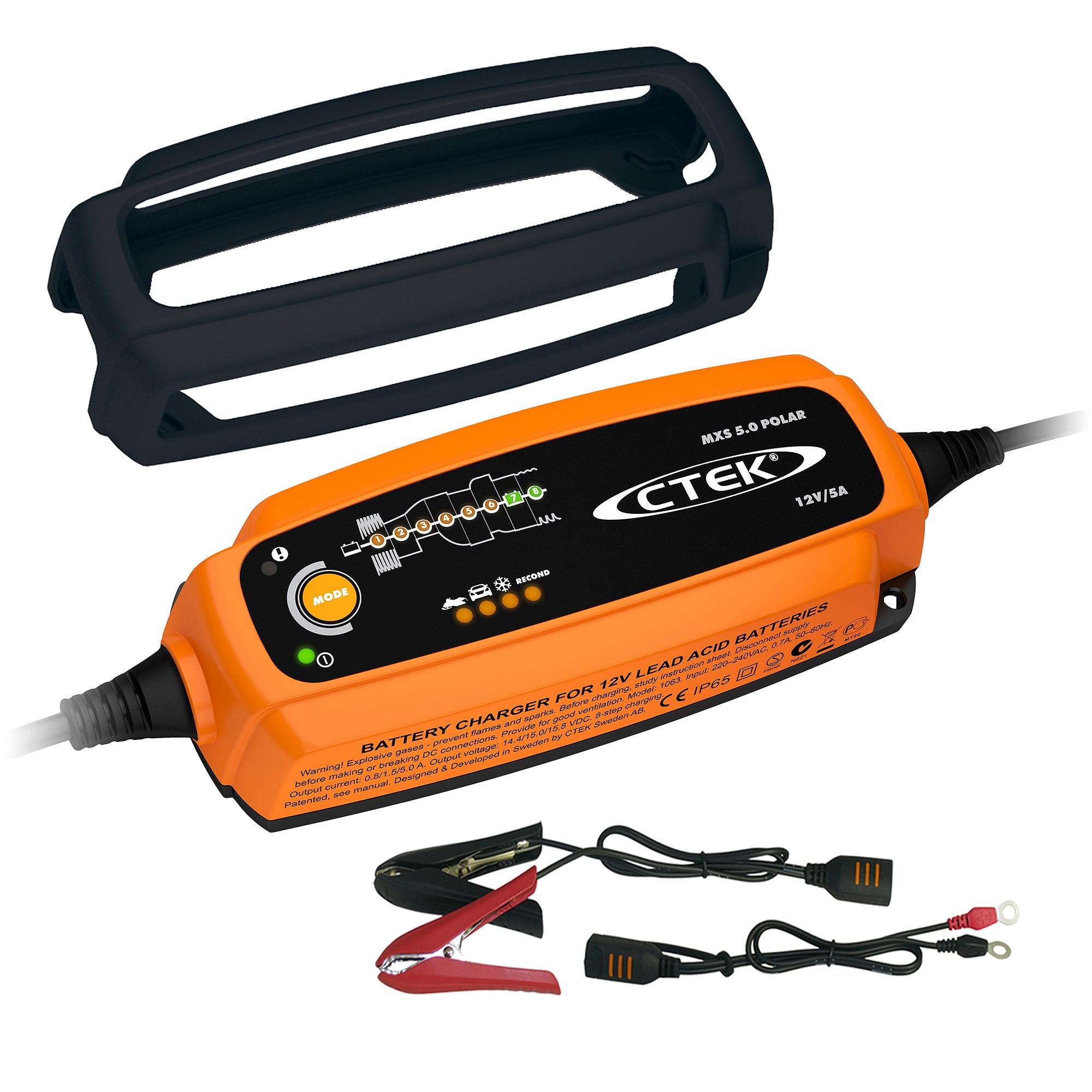 ctek batterieladeger t mxs 5 0 polar bumper atp autoteile. Black Bedroom Furniture Sets. Home Design Ideas