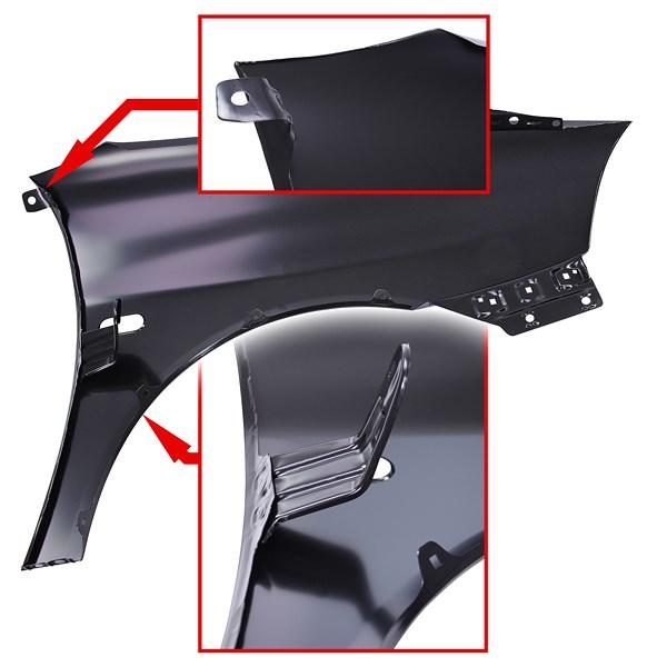 bestprice kotfl gel vorne links m blinkerloch atp autoteile. Black Bedroom Furniture Sets. Home Design Ideas