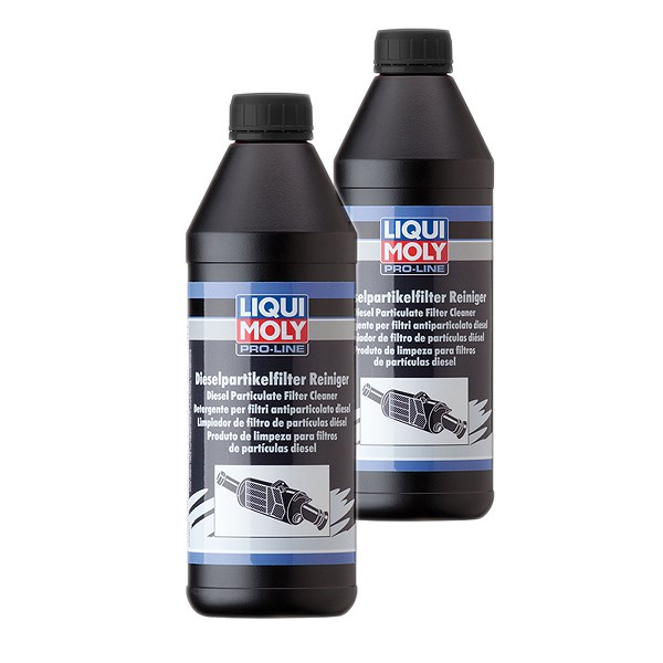 liqui moly 2x 1 l pro line dieselpartikelfilter reiniger atp autoteile. Black Bedroom Furniture Sets. Home Design Ideas