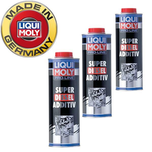 liqui moly 3x 1 l pro line super diesel additiv. Black Bedroom Furniture Sets. Home Design Ideas