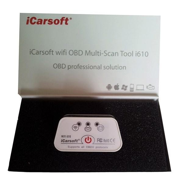 icarsoft i610 wifi obd 2 diagnoseger t atp autoteile. Black Bedroom Furniture Sets. Home Design Ideas