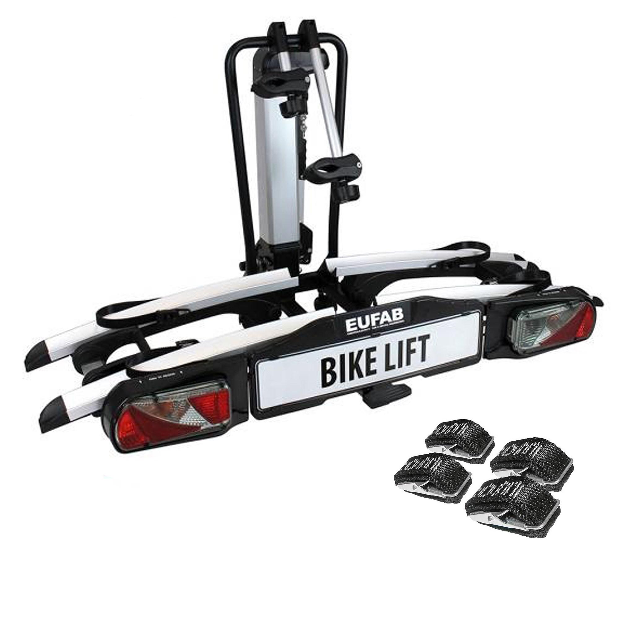 eufab bikelift fahrradtr ger ahk textilspanngurte atp. Black Bedroom Furniture Sets. Home Design Ideas