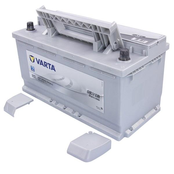 varta silver dynamic starterbatterie 100ah 830a h3. Black Bedroom Furniture Sets. Home Design Ideas