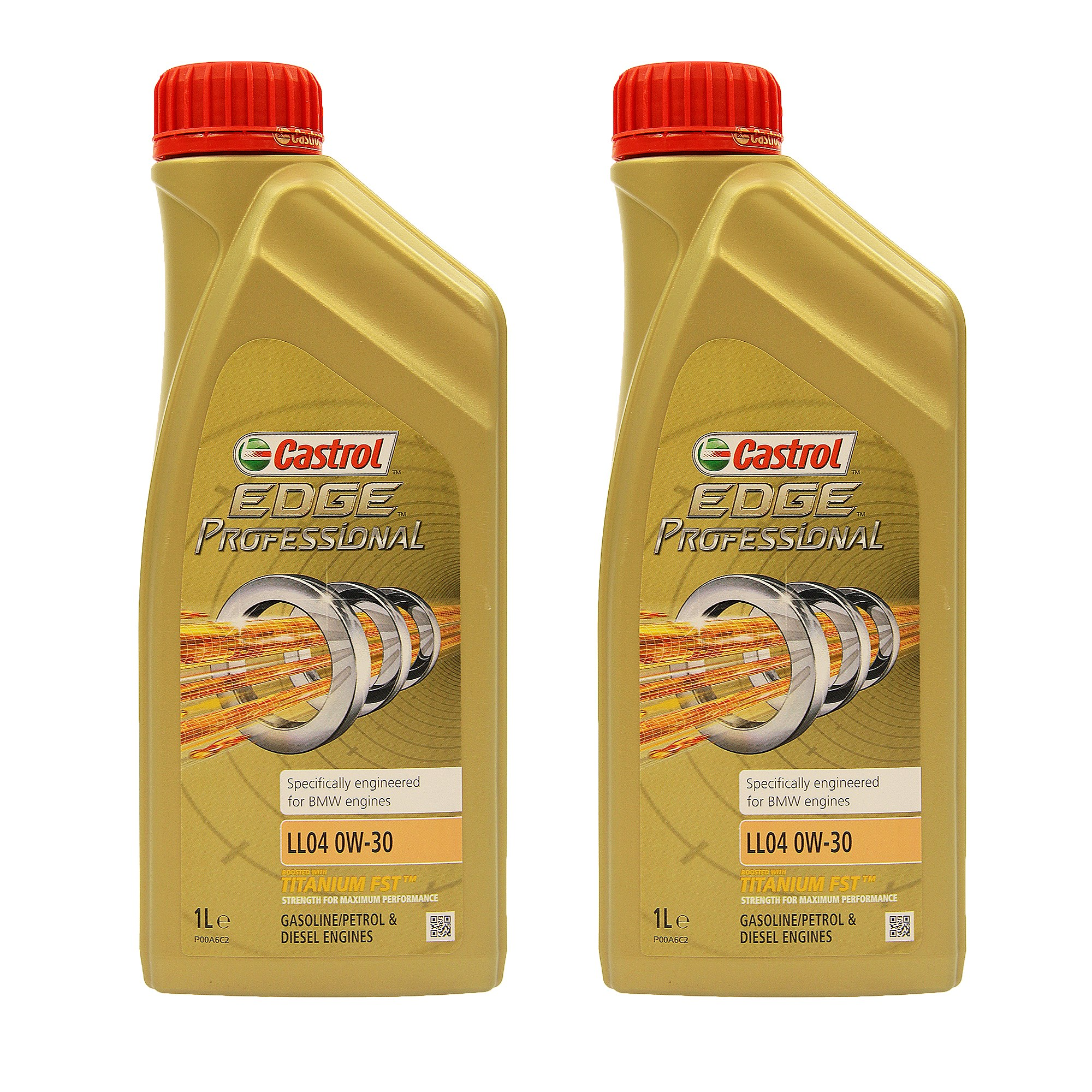 castrol 2x 1 l edge prof titanium fst bmw ll04 0w 30. Black Bedroom Furniture Sets. Home Design Ideas