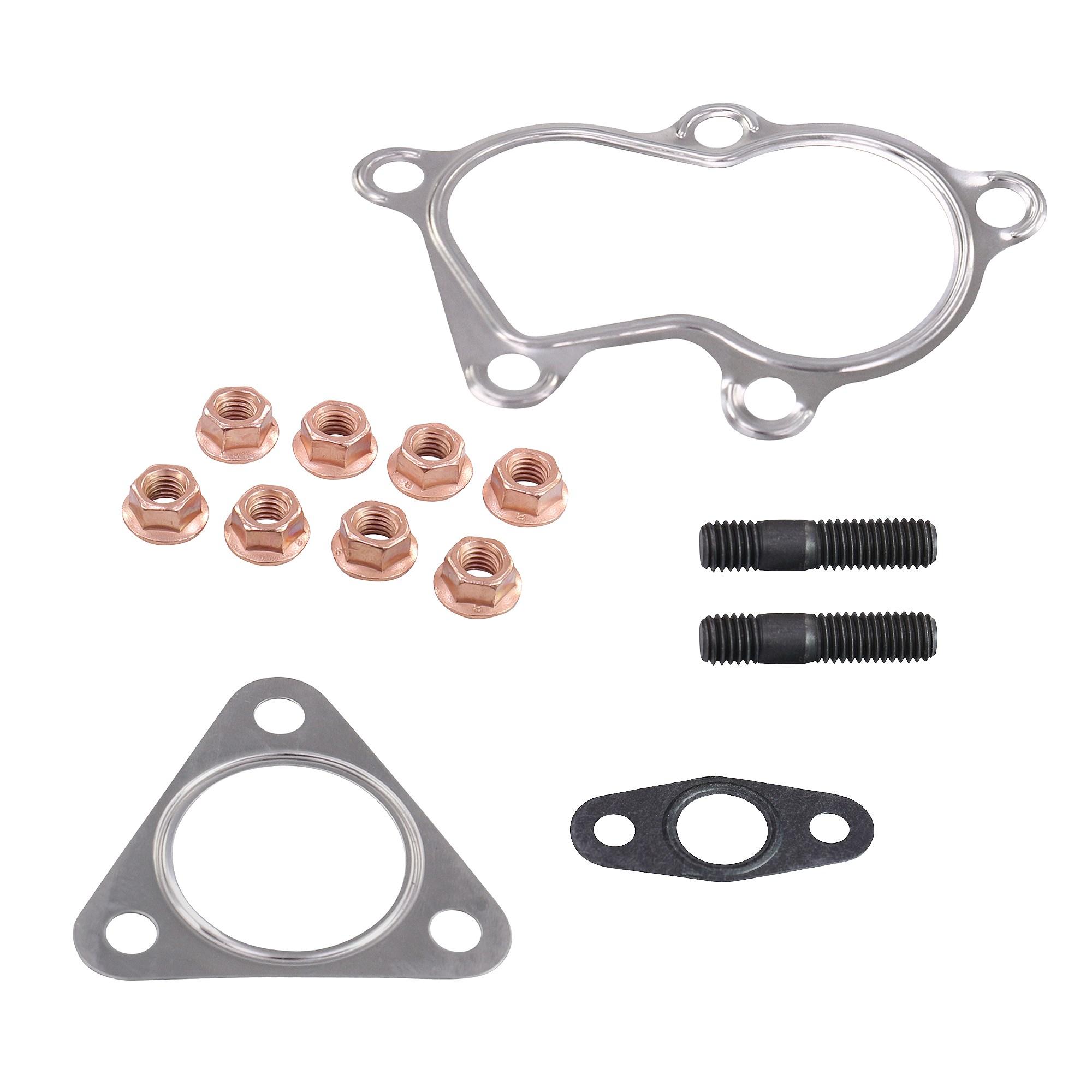 Turbosprężarki i części Motoryzacja: Części ANBAUSATZ MONTAGESATZ TURBOLADER TURBO RENAULT