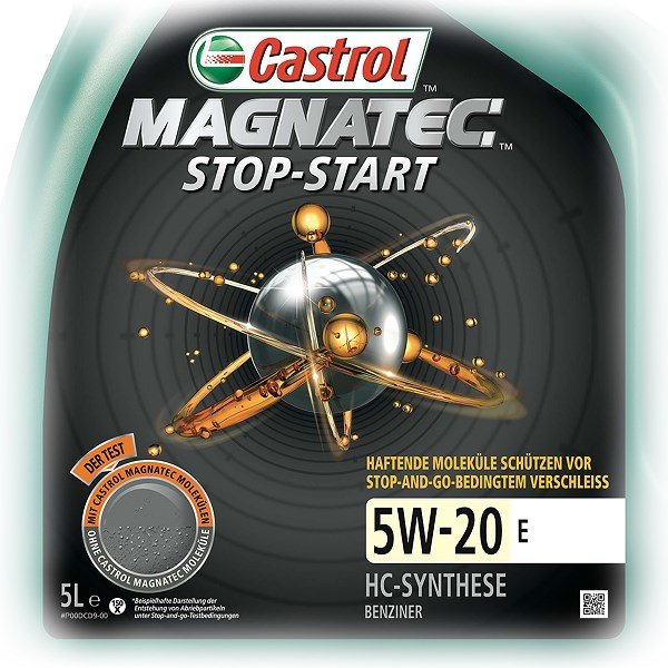 castrol 5 l magnatec stop start 5w 20 e atp autoteile. Black Bedroom Furniture Sets. Home Design Ideas